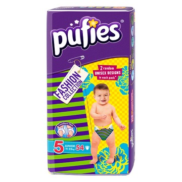 Pufies Junior 54 buc Fashion Collection